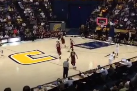 Video: Gee McGhee Hit a 3/4-Court Buzzer Beater Before Halftime