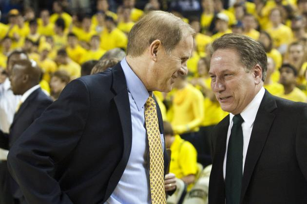 Michigan State Basketball: Saturday Is True Test for Spartans and Wolverines