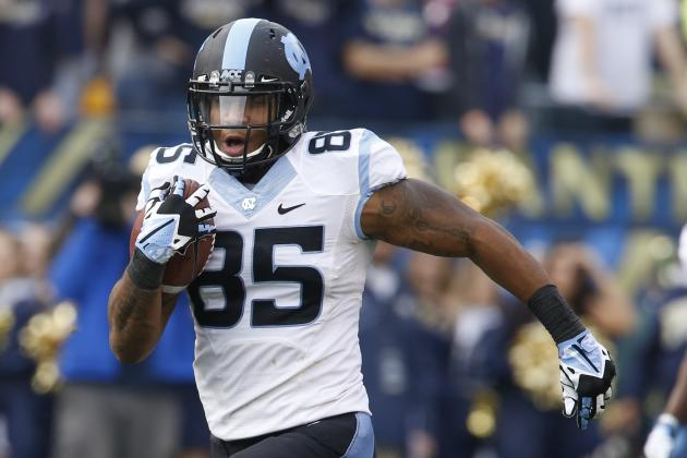 Why the New York Giants Should Draft TE Eric Ebron in the First Round