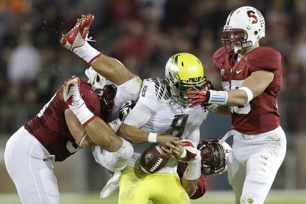 Pac-12 Football Mailbag: Oregon vs. Stanford as a WrestleMania Match