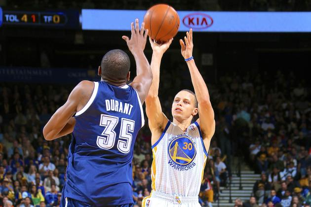 Kevin Durant: Stephen Curry Is 'Best Shooter to Ever Play' in NBA
