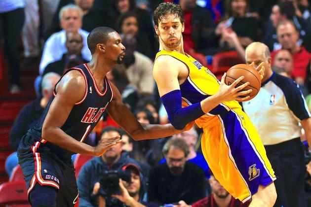Kobe Bryant and Pau Gasol Warn Heat How Hard Getting Up for 3rd Title Run Is
