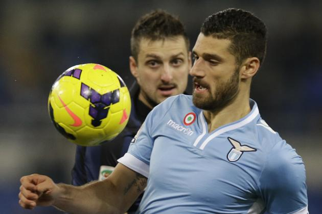 Lazio V Juventus: Candreva Key If Lazio Are to Upset the Juve Midfield Machine