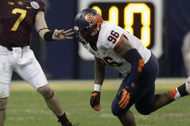 Former Syracuse DT Bromley Will Participate in NFL Combine
