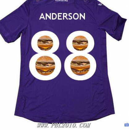 Anderson's New Fiorentina Shirt Looks Delicious