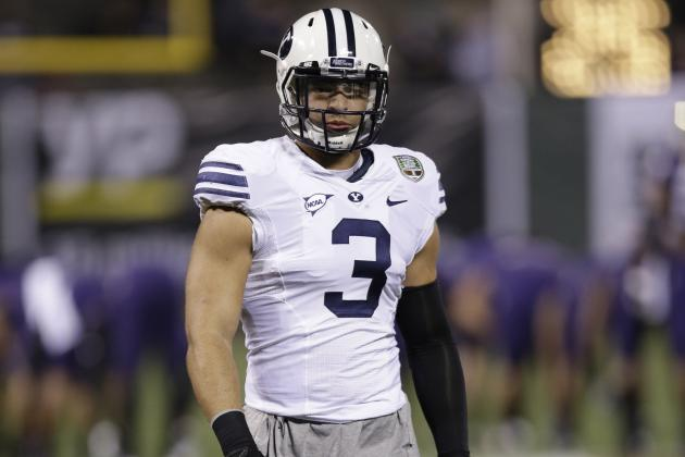 Chargers Meets with BYU LB Kyle Van Noy at Senior Bowl Practice