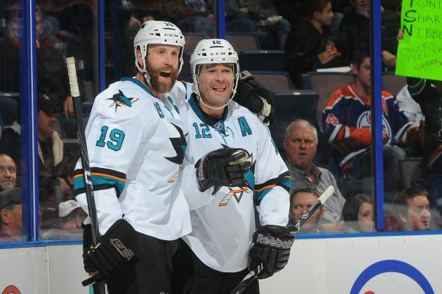 San Jose Sharks Sign Patrick Marleau and Joe Thornton to 3-Year Extensions