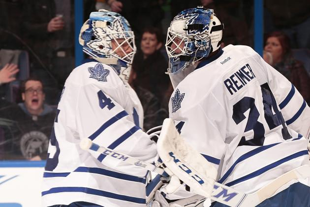 Mirtle: Maple Leafs' Goalies Beginning to Look Human
