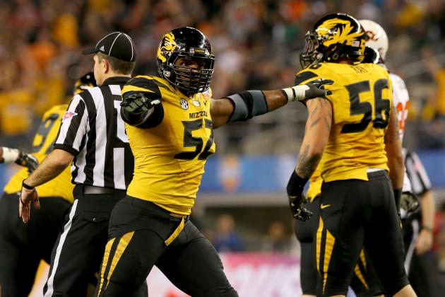 Michael Sam NFL Draft 2014: Highlights, Scouting Report for Rams DE