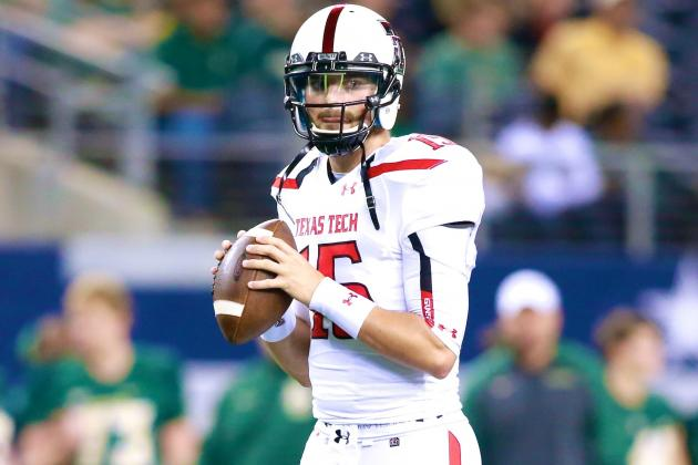 QB Clayton Nicholas Reportedly Will Transfer from Texas Tech to BGSU