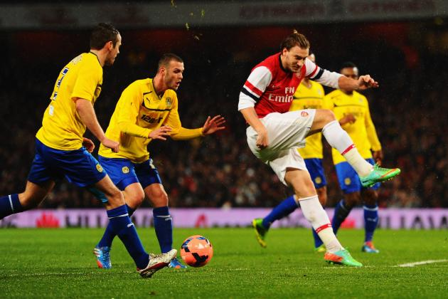 Nicklas Bendtner's Rough Match Against Coventry