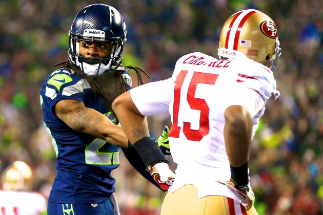 Richard Sherman Fined $7,875 for Taunting Michael Crabtree in NFC Title Game