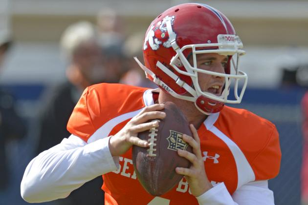 Derek Carr Proving Doubters Wrong at Senior Bowl 2014 Practices