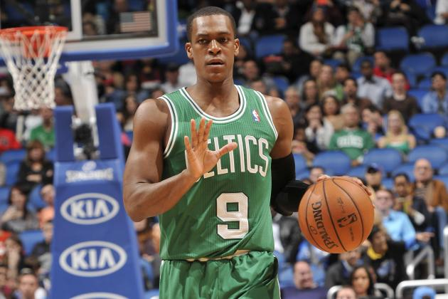 Rajon Rondo: 'I Wouldn't Mind Staying Here the Rest of My Career'
