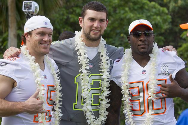 Pro Bowl Uniforms 2014: Sneak Peeks of Players Wearing Their New Gear
