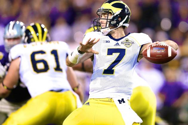 Big Ten Football Q&A:  Will It Be Gardner or Morris as Michigan's Quarterback?