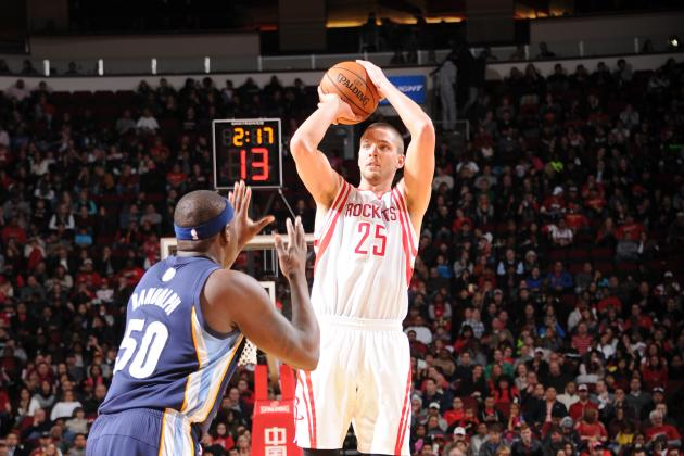 Chandler Parsons Hits 10 Threes in 1 Half, Sets NBA Record