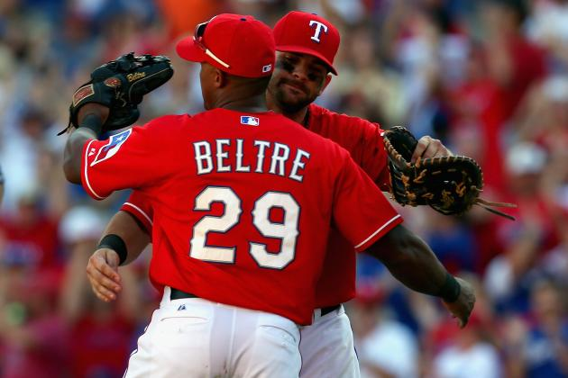 Adrian Beltre Likes Upgrades to Rangers' Offense
