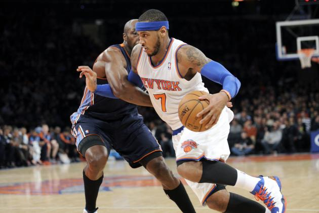 Breaking Down Carmelo Anthony's Historic 62-Point Performance by the Numbers