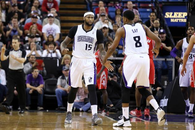 Are DeMarcus Cousins' and Rudy Gay's Injuries Blessings in Disguise?