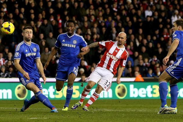 Chelsea vs. Stoke City: Date, Time, Live Stream, TV Info and Preview
