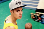 I Can't Stop Watching Justin Bieber Play Basketball Poorly