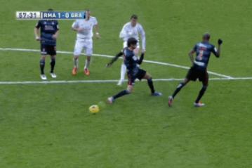GIF: Real Madrid's Cristiano Ronaldo Scores a Stunner Against Granada