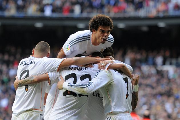 Real Madrid vs. Granada: Live Player Ratings for Los Blancos