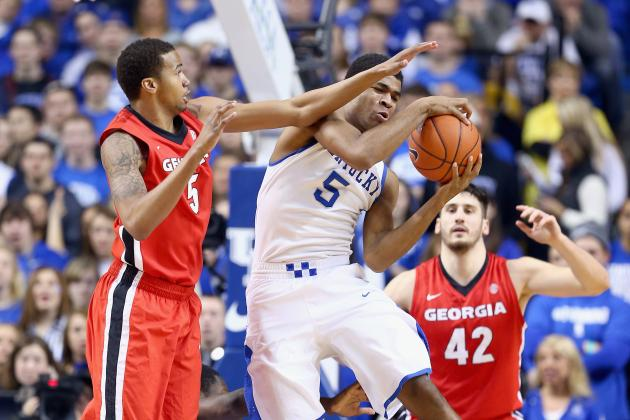 No. 14 Kentucky Blows out Georgia 79-54
