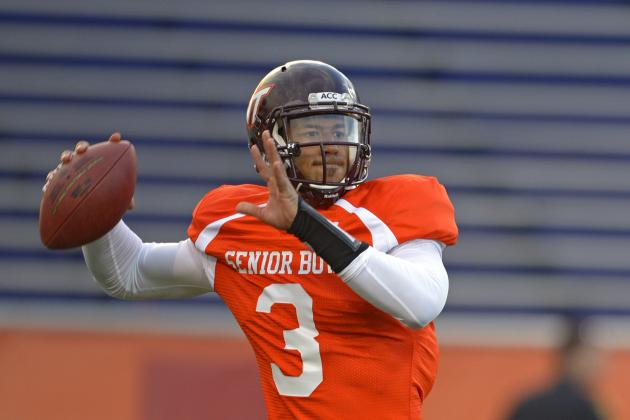 NFL Draft 2014: Logan Thomas' Draft Stock Mirrors His on-Field Play