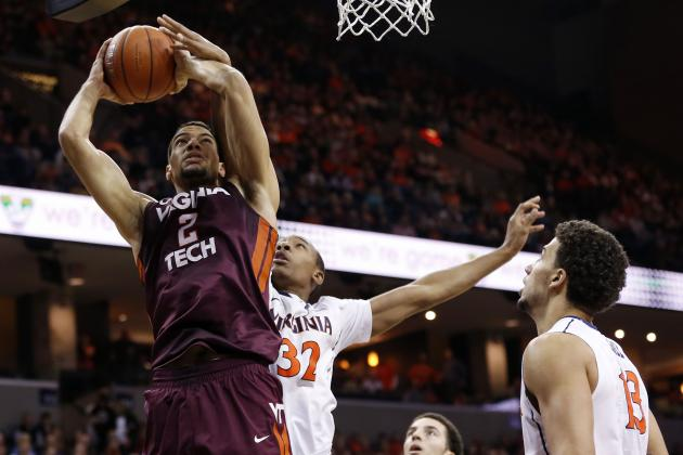 Brogdon Leads Virginia Past Virginia Tech, 64-45
