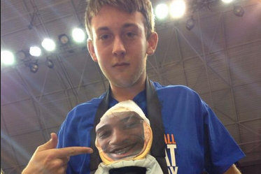 Photo: A Florida Fan Is Distracting McRae with Baby Doll Face