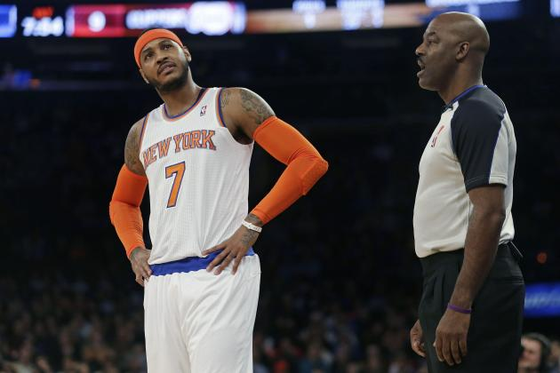 NBA Rumors: Latest Buzz on Carmelo Anthony and Marcin Gortat