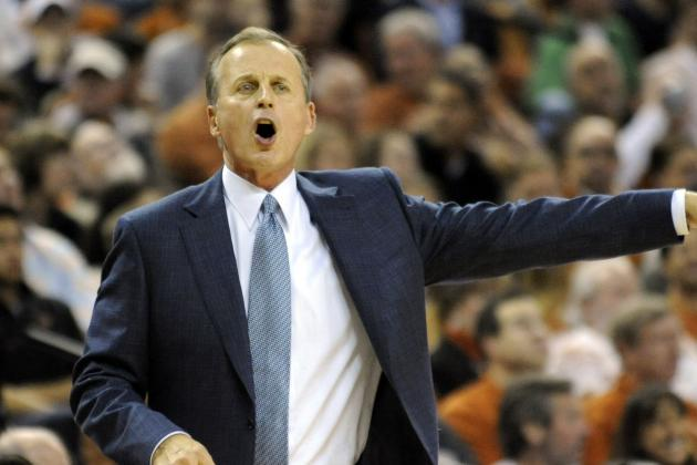 Texas Coach Rick Barnes' Seat Is Getting Cooler by the Game