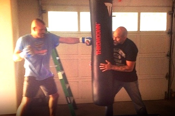 Chuck Liddell Comeback? Coach Posts Provocative Training Photo Online