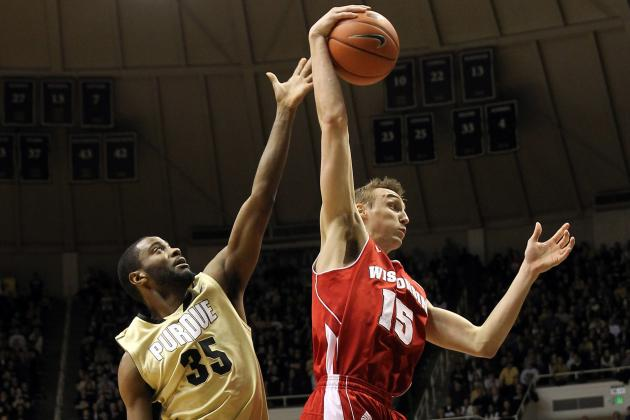 Purdue Men's Basketball: Cold Shooting Boilers Fall to Badgers