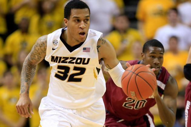 Missouri Beats South Carolina 82-74