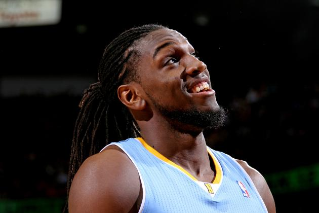 Paul George Soars for Dunk Until Kenneth Faried Interrupts