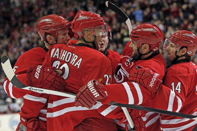 Carolina Hurricanes Learning to Overcome Adversity as Success Continues