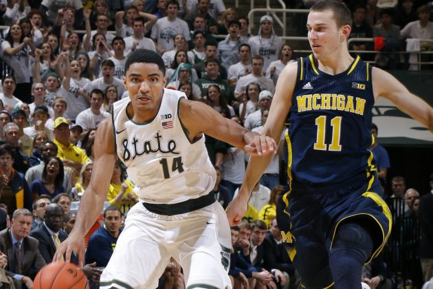 Nik Stauskas Rising in 2014 NBA Draft, but Certainly Not at Gary Harris' Expense