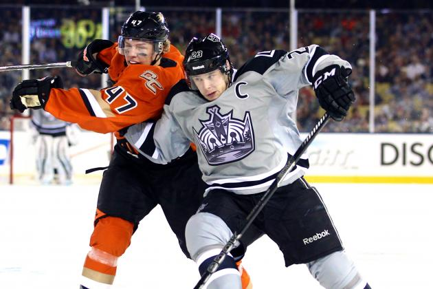 Ducks vs. Kings: Live Score and Highlights for NHL Stadium Series 2014 Game