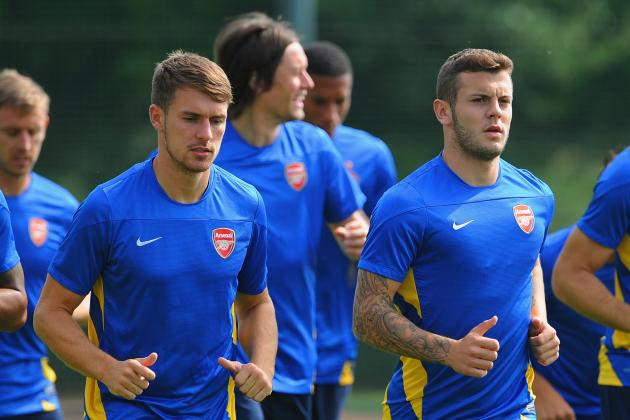 Can Aaron Ramsey and Jack Wilshere Coexist Anchoring Arsenal's Midfield?