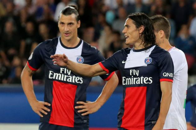 Ligue 1: Week 22, Ibrahimovic and Cavani Watch, PSG Star Duo Struggle to Shine