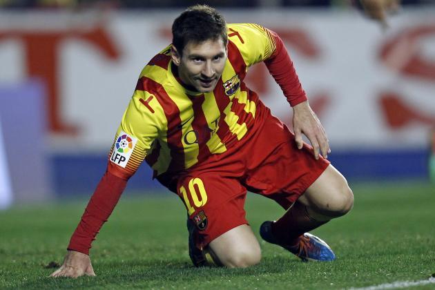 Barcelona vs. Malaga: Live Player Ratings for Barca