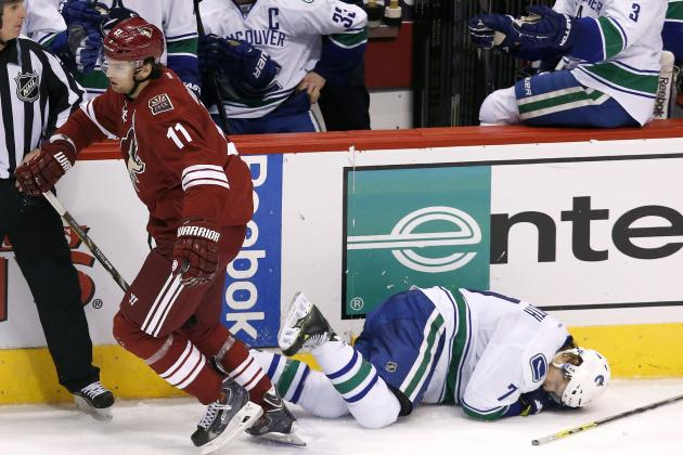 Canucks' Weise Says Hanzal 'Might Have to Answer the Bell'