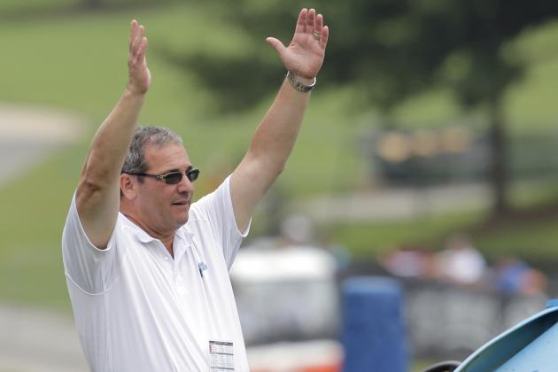 Carolina Panthers GM Dave Gettleman Talks Newton, Hardy, Smith, Rivera