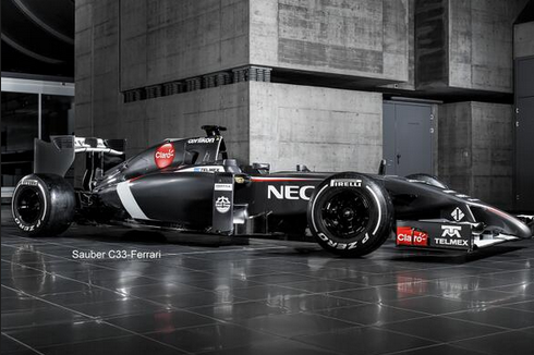 Sauber Car Launch: F1 Team Release Images and Details of New C33-Ferrari