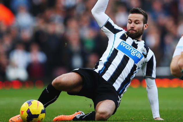 Yohan Cabaye Transfer Bid from PSG Reportedly Rejected by Newcastle