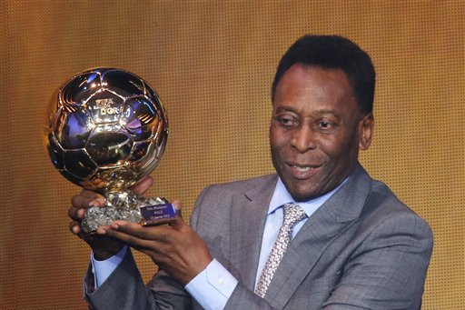 Diego Maradona Hits out at Pele over Honorary Ballon D'Or
