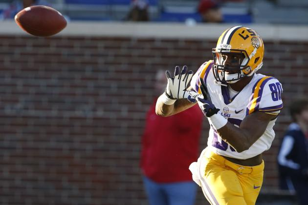 Jarvis Landry Scouting Report: NFL Outlook for LSU WR